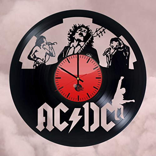 ACDC-Hard-Rock-Band-Handmade-Vinyl-Record-Wall-Clock-Fun-gift-Vintage-Unique-Home-decor-Art-Design-Interier