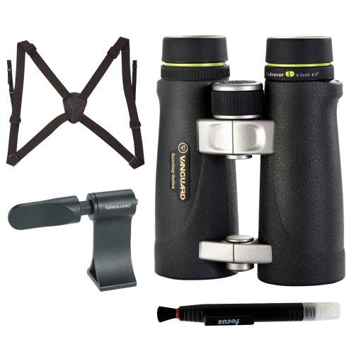 Vanguard Endeavor Ed 8545 8.5 X 45 With Harness + Tripod Adaptor + Lens Pen