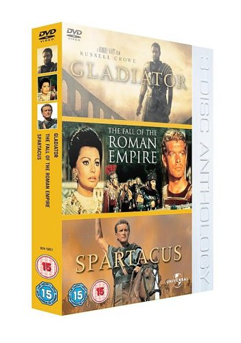 Gladiator/The Roman Empire/Spartacus [DVD]