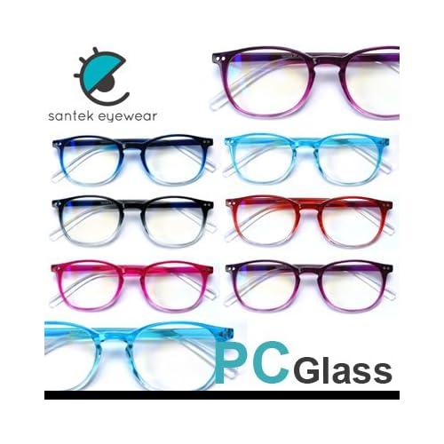 PCメガネ パソコンメガネ ブルーライト35%カット スクエア型 男女兼用/ユニセックス (ブラック)