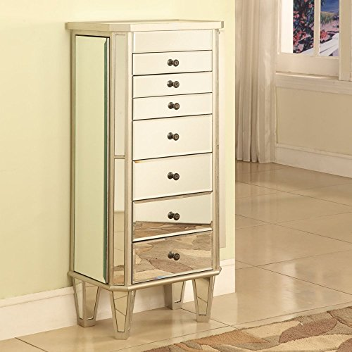 Mirrored-Jewelry-Armoire-with-Silver-Wood-Finish