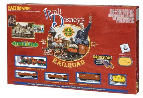 Bachmann Trains Walt Disney'S Carolwood Pacific Railroad Ready-To-Run Ho Train Set front-226487