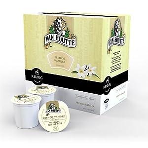 Van Houtte French Vanilla Coffee Keurig K-Cups, 18 Count by Keurig