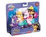 Fisher-Price Dora The Explorer Mermaid 2-Pack Squirters