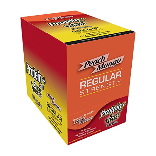 5 Hour Energy with Protein, Peach Mango, 12 Pack (Protein And Energy compare prices)