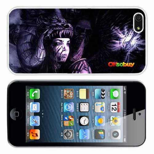 Iphone 5 At&t Sprint Verizon Retail Packing New Releases Viking Survivor Zombies Fashion Design Hard Case Cover Skin Protector for Iphone 5 At&t Sprint Verizon Retail Packing (White Pc+pearlescent Aluminum) Fs-066
