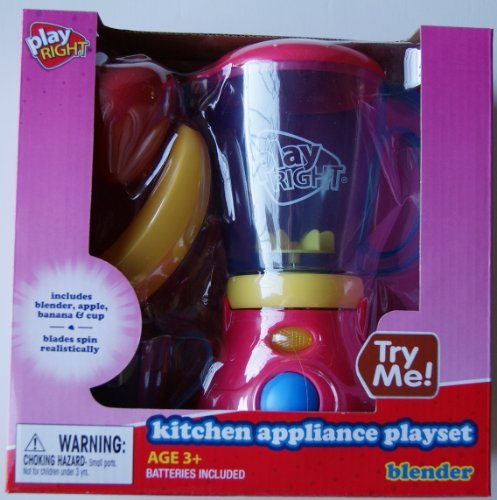 Play Right PlayRight Kitchen Appliance Blender and Food Playset at Sears.com