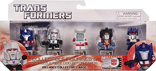 "Optimus Prime, Megatron, Ratchet, Starscream, Soundwave ~ 1.25"" Mini-Figures: Transformers 30th Anniversary Series [Generation 1 Set]"
