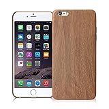 Satechi® iPhone用 木目調 スマホケース 軽量スリム カバーケース ポリウレタン素材 (iPhone 6/6S)