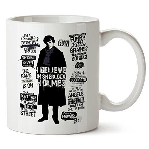 I Believe In Sherlock Mug Tazza