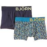 Bjorn Borg Men's BB Water Colour 2 Pack Boxer Shorts