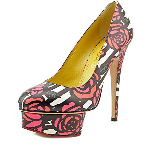 charlotte-olympia-dolly-women-us-7-multi-color-platform-heel-eu-37