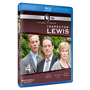Masterpiece Mystery: Inspector Lewis 4 [Blu-ray] Original UK Edition
