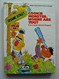 COOKIE MNSTR,WHERE R U (0394832574) by Sesame Street