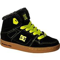 ディーシー DC Rebound LE Skate Shoe - Boys' Black Yellow アウトドア キッズ 子供 男の子 ブーツ 靴 シューズ 並行輸入