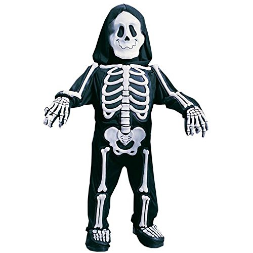 Toddler Skeleton Bones Halloween Costume (Size: 3T-4T) front-910827