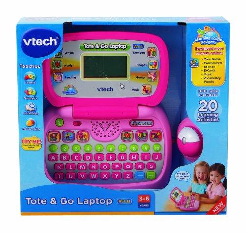 Imagen de Vtech - Bolsas & Go portátil con Web Connect - Rosa