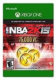 NBA 2K15 75,000 Virtual Currency - Xbox One [Digital Code]