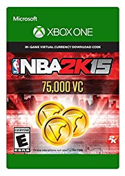 NBA 2K15 - 75,000 Virtual Currency - (Previous Game)- Xbox One Digital Code