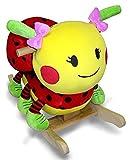 516kv22broL. SL160  Lulu Ladybug Rocker by Rockabye