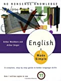 img - for English Made Simple, Revised Edition: A Complete, Step-by-Step Guide to Better Language Skills (Made Simple (Broadway Books)) book / textbook / text book