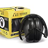 Pro For Sho 34dB Noise Cancelling Shooting Ear Muffs - Special Designed Lighter Weight & Maximum Hearing Protection , Black