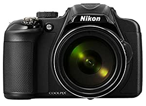 Nikon Coolpix P530 16.1 MP Point-and-Shoot Digital Camera (Black) with 42 x Optical Zoom with Memory Card, Pouch and HDMI cable