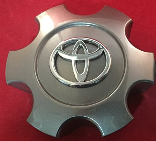 ONE NEW REPLACEMENT 2003-2006 Toyota Tundra 03-07 Sequoia wheel center cap hubcap SET 69940 CHARCOAL (Center Cap For Rims 15 compare prices)