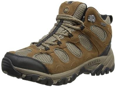 Merrell Unisex-Adult Hilltop Vent Mid WaterProof Trekking and Hiking Boots J099971C M.Stone/Boulder 8 UK, 42 EU