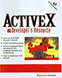 img - for ActiveX Developer's Resource (Bk/CD) by Husain Kamran Wusain Kamran Levitt Jason (1997-07-15) Paperback book / textbook / text book