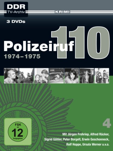 Polizeiruf 110 - Box 4: 1974-1975 [3 DVDs]