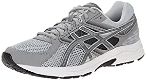ASICS Men's Gel Contend 3 Running Shoe, Light Grey/Titanium/Black, 11 4E US