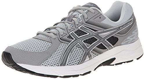 ASICS Men's Gel Contend 3 Running Shoe, Light Grey/Titanium/Black, 10.5 M US (Asics Mens Running Shoes compare prices)