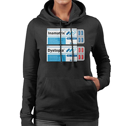 Red Or Blue Matrix Pills Women's Hooded Sweatshirt