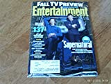Entertainment Weekly September 16/23, 2016 Jared Padalecki & Jensen Ackles Supernatural (Fall TV Preview Special Double Issue)