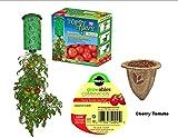 Upside down Cherry Tomato Planter Kit - Topsy Turvy Tomato Planter with Miracle-Gro Gro-ables Tomato Cherry Seed Pod