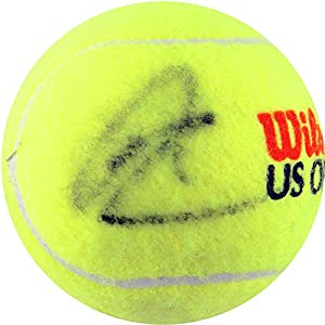 Rafael Nadal Autographed Tennis Ball - SM Holo - Autographed Tennis Balls