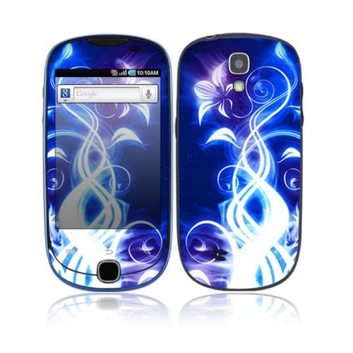 Electric Flower Decorative Skin Cover Decal Sticker for Samsung Gravity Smart SGH T589 Cell Phone