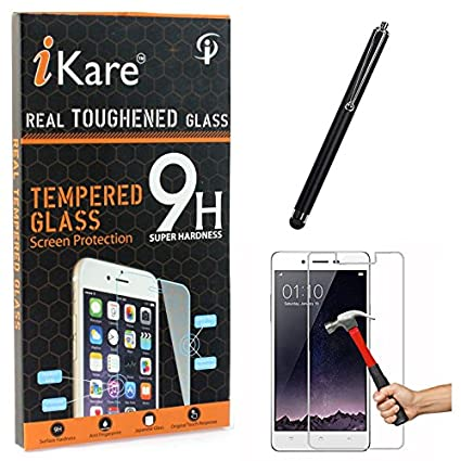iKare-Tempered-Glass-for-Oppo-Mirror-5,-Tempered-Screen-Protector-for-Oppo-Mirror-5-+-Touch-Screen-Stylus