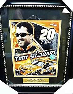 Tony Stewart Signed Photo - Home Depot # 20 Driver Framed 8x10 SOP COA - Autographed... by Sports Memorabilia