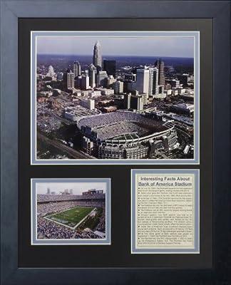 "Legends Never Die ""Carolina Panthers Stadium"" Framed Photo Collage, 11 x 14-Inch"