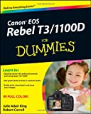 img - for Canon EOS Rebel T3/1100D For Dummies book / textbook / text book