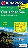 Ossiacher See - Feldkirchen in Kärnten: Wanderkarte mit KOMPASS-Lexikon, Radwegen und Loipen. GPS-genau. 1:25000 (KOMPASS-Wanderkarten)