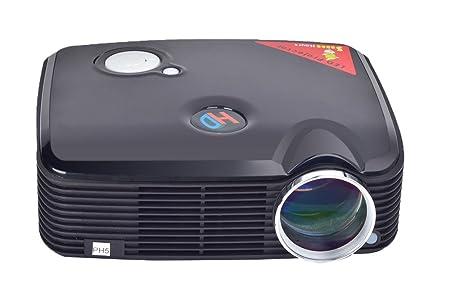 niceEshop(TM) PH5 Multimédia HD Projecteur de Théâtre de Cinéma du Système D'image LCD (noir, Fiche Européenne)