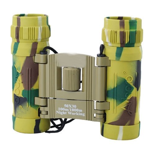 Siam Circus 50X30 100M/1000M Binocular Focusing Telescope For Hunting Camping Watching-Camouflage Color