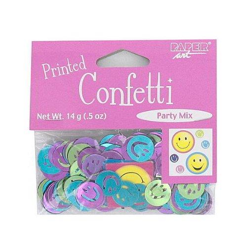Smile Face Confetti - Multicolored - 1