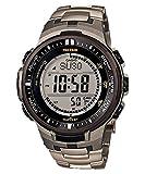 [カシオ]CASIO PROTREK プロトレック デジタル腕時計 電波受信 タフソーラー チタン素材 メンズ PRW-3000T-7 [並行輸入品]