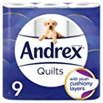 Andrex Quilts Toilet Tissue - 9 Rolls