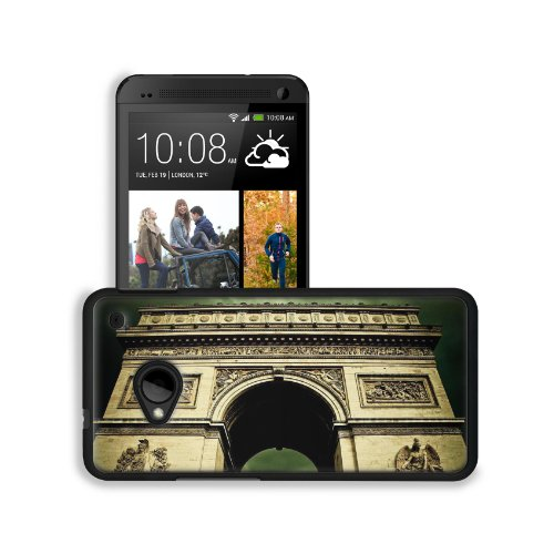 Angels Paris Clouds France Arc De Skies Htc One M7 Snap Cover Premium Leather Design Back Plate Case Customized Made To Order Support Ready 5 11/16 Inch (145Mm) X 2 15/16 Inch (75Mm) X 9/16 Inch (14Mm) Msd Htc One Professional Leather Plastic Cases Touch