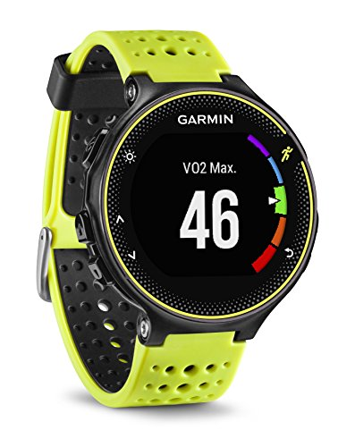 Orologio Smartwatch Garmin Forerunner 230 GPS da corsa Nero / Giallo 010-03717-52